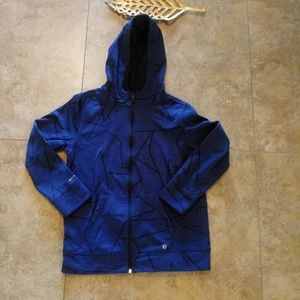 Other - Blue hooded jacket with pockets
